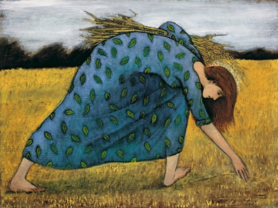ruth gleaning wheat